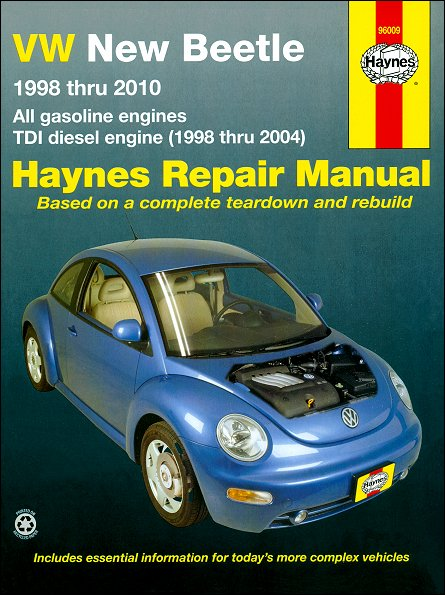 new beetle workshop manual free download