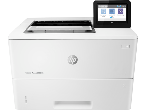 hp laser jet manual or it managed