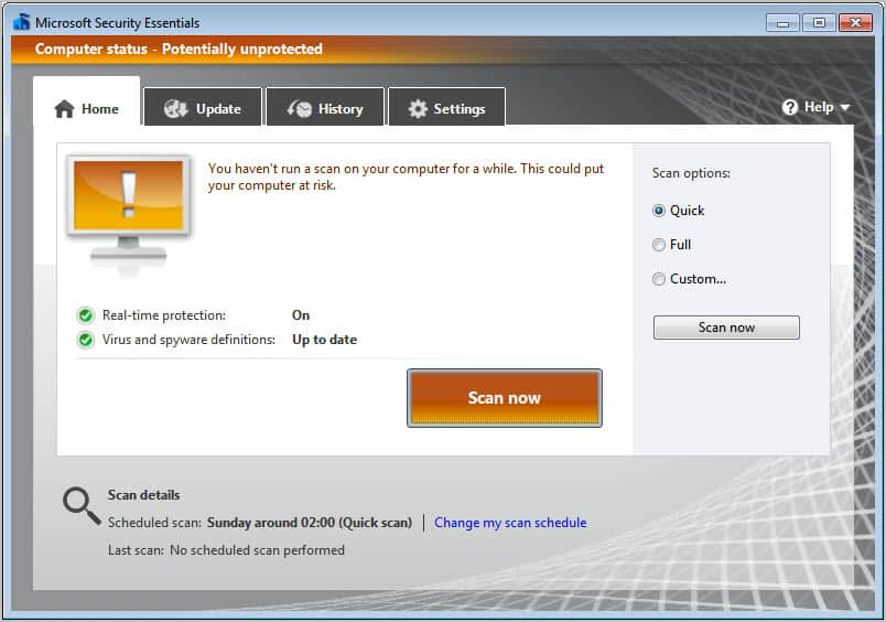 mse update manually free download